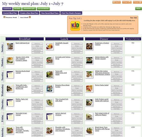 food diet plan diet plan recipes meal planner for chemotherapy patients