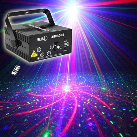 best dj lighting brands best 5 lens 80 patterns rg laser projector stage lighting