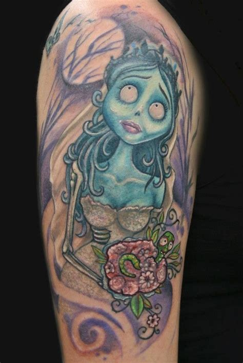 corpse bride tattoos corpse ink