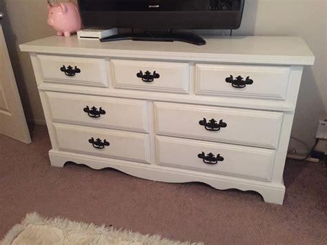 Large Wooden Dresser by Letgo Large White Wooden Dresser In Gainesville Fl