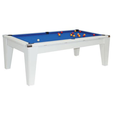 white pool table dining table white dpt avante dining pool table amazon leisure