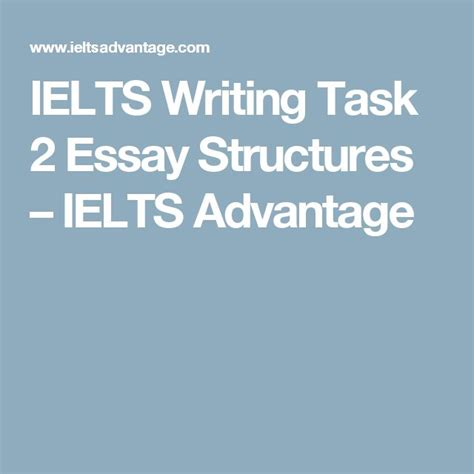 ielts writing task 2 sle essays 25 best ideas about essay structure on essay