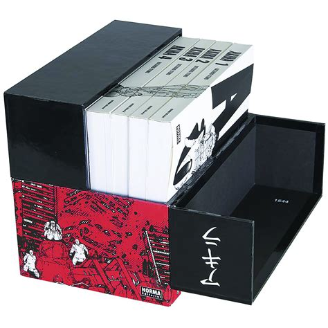 libro akira 35th anniversary box aug171816 akira 35th anniversary hc box set previews world