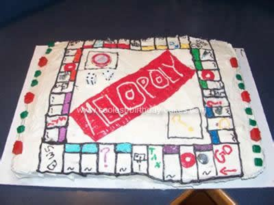 home design board games coolest homemade monopoly cakes