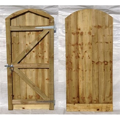 Garden Gate Arch Top Arch Top Closeboard Gate And Furniture Set