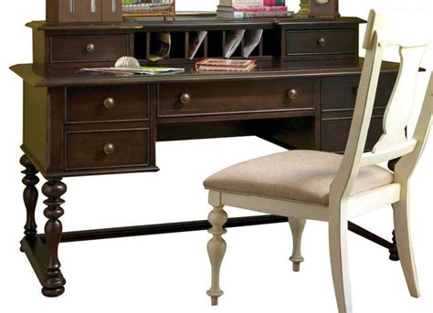 paula deen home letter writing desk in tobacco desks and