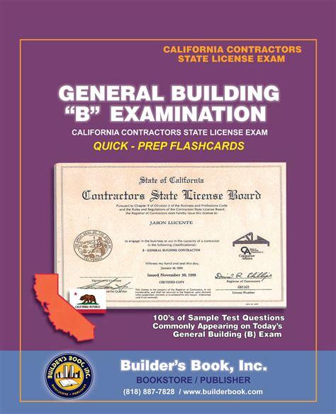b general building examination quick prep flashcards for
