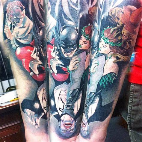 batman harley quinn tattoo realistic movies tattoo by steve butcher tattoo no