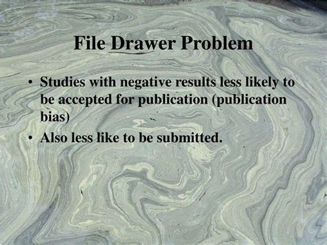 File Drawer Problem by Ppt Projective Tests Powerpoint Presentation Id 228718