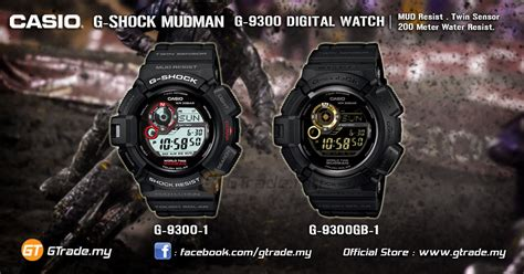 Casio G Shock Mudman G 9300 1 Original casio g shock g 9300 1 mudman watc end 10 15 2018 11 11 pm