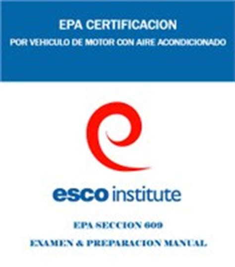 epa section 608 certification exam section 608 epa certification exam preparatory manual