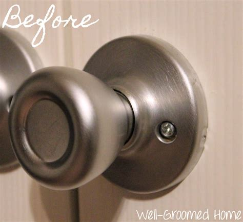 spray painting knobs updating door knobs with spray paint well groomed home