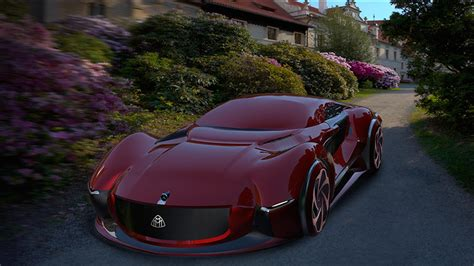 mercedes supercar this is what a mercedes maybach supercar would look like