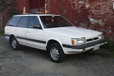 classic subaru wagon classic rust free 1987 subaru gl 4wd wagon