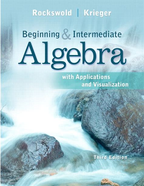 thinking mathematically plus new mylab math with pearson etext access card package 6th edition rockswold krieger beginning and intermediate algebra