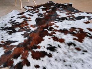 White Cowhide Rugs For Sale by White Tricolor Cowhide Rug Hair On Hide Skin Leather Area