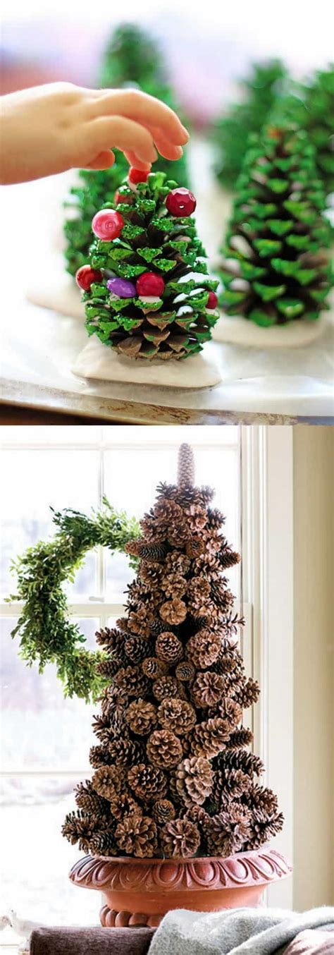 pine cone christmas ideas 48 amazing tree ideas a of rainbow