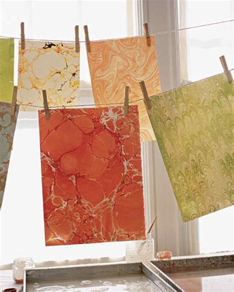 How To Make Marbled Paper - marble is the new black