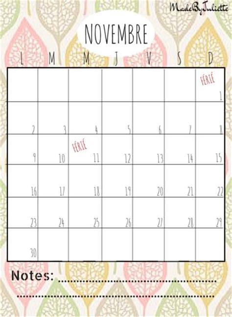 Calendrier Novembre 2015 Calendrier 2015 Novembre Calendar Template 2016