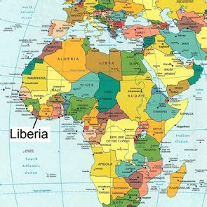 where is liberia located on the world map 56 best liberia for images on world