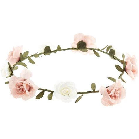 Bando Flower Crown White 17 best ideas about simple on most