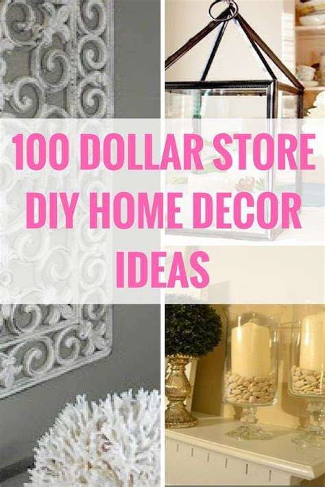 shop home decor decorate for less with these dollar store diy projects