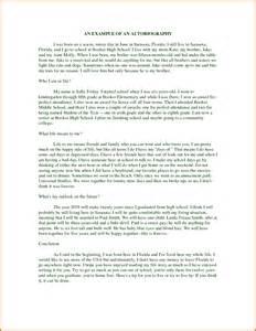 Autobiography samples for college students http www docstoc com docs