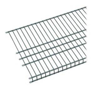 Closetmaid 20 Wire Shelf Closetmaid Maximum Load 6 Ft X 16 In Ventilated Wire