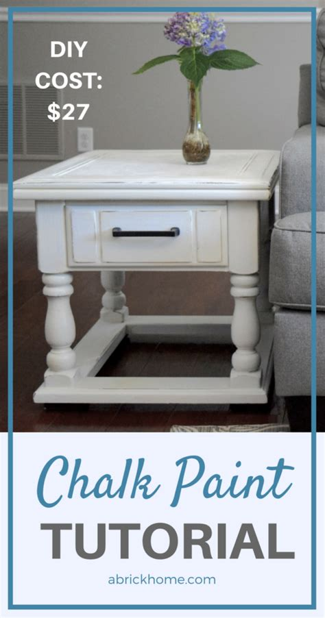 diy chalk paint home hardware diy chalk paint furniture tutorial for beginners a brick