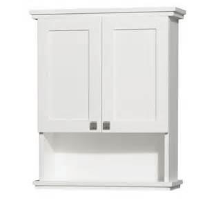Modern Bathroom Linen Cabinets Wyndham Acclaim 25 Inch Contemporary Bathroom Wall Mount