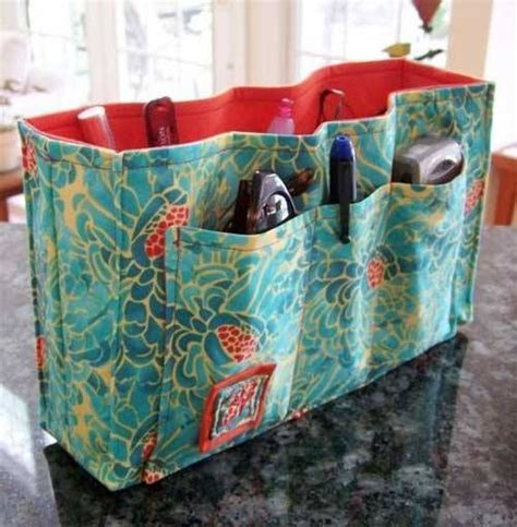 tote bag pattern with dividers purse organizer insert sewing pattern sewing patterns