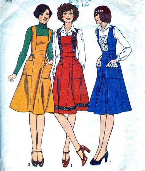 sewing pattern ladies pinafore dress best 25 vintage sewing patterns ideas on pinterest