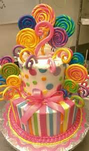 lolli kuchen lollipop cake baby shower cakes