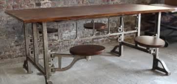 Industrial Kitchen Table Furniture Kitchen Amp Bathroom News Industrial Kitchen Table By Barak7