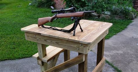 shooting bench height woodworking plans online shooting bench plans
