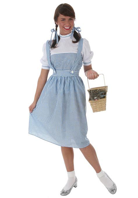 plus size deluxe dottie costume halloween costumes adult plus size kansas girl costume