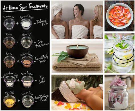 at home spa treatment lovelies