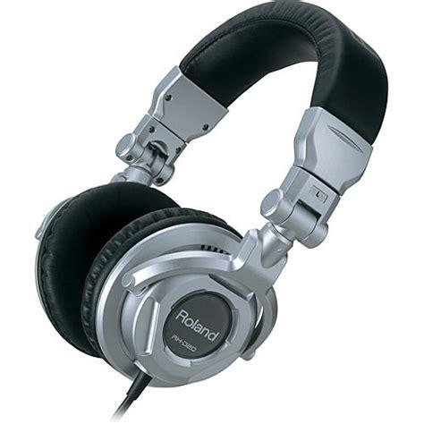 Headphone Roland Roland Rh D20 Stereo Circumaural Monitor Headphones Rh D20 B H