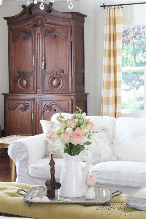 cottage country white slipcovers country cottage