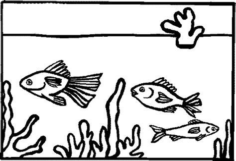 coloring page aquarium coloring pages 6