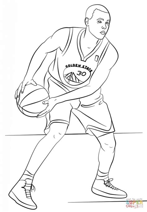 coloring pages bible stephen stephen curry nba coloring pages sports coloring pages