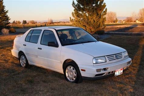 1996 Volkswagen Jetta by Mk3 Vw Jetta 1996 White 5spd 4 Door Volkswagen