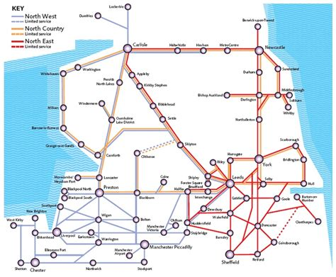 map uk rail lines northern trains rail maps