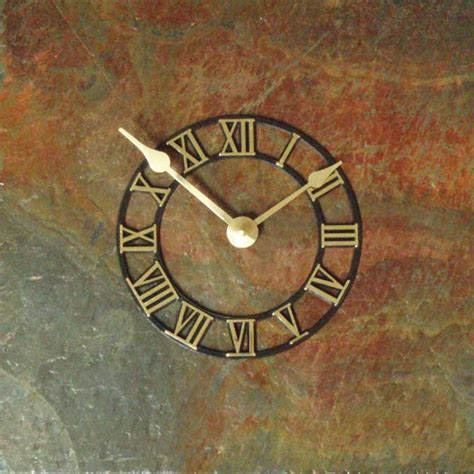unique wall clock com unusual rustic stone wall clocks