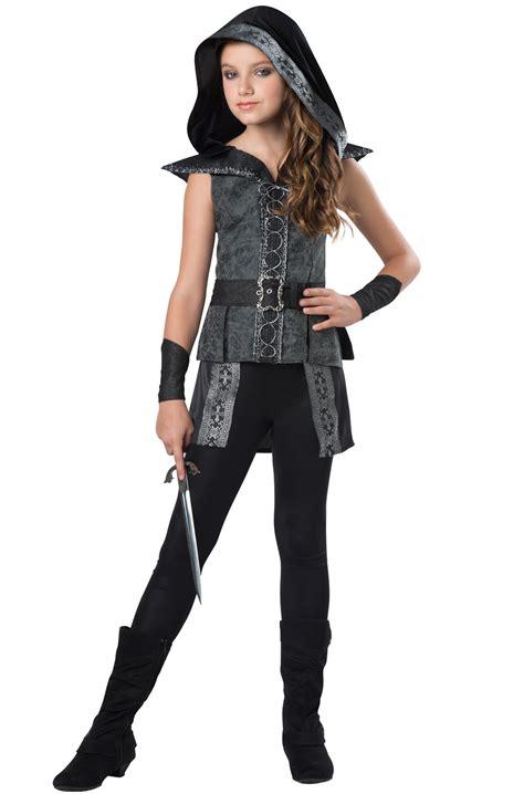 tween costumes purecostumescom dark woods huntress tween costume purecostumes com