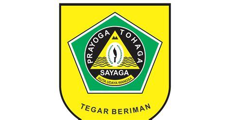 logo kabupaten bogor format cdr png gudril logo