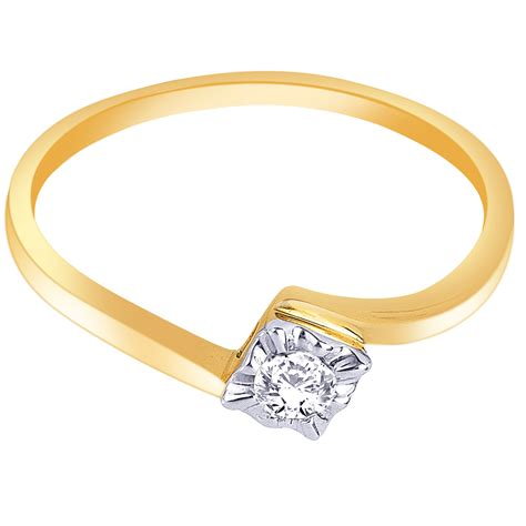 attractive beautiful engagement rings design in gold for