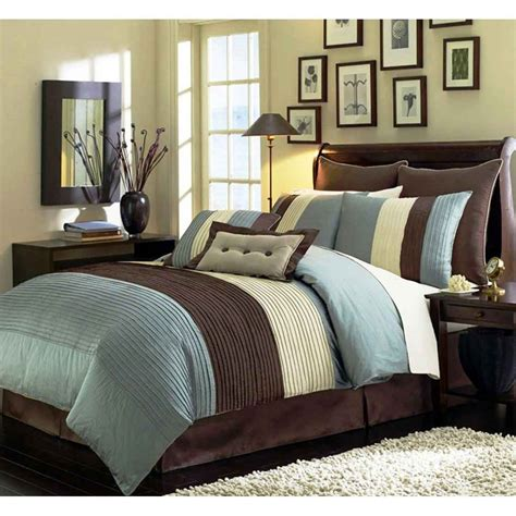 blue and brown room blue brown bedrooms decosee com