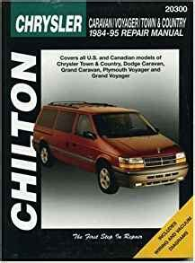 chilton car manuals free download 1995 infiniti j electronic toll collection chilton s chrysler caravan voyager and town country 1984 1995 repair manual martin j