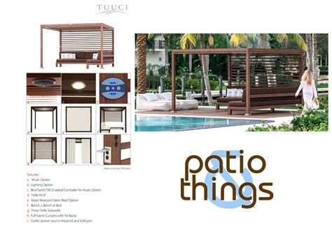Patio & Things   A cabana is defined by where you live or who you ask. If you live near the